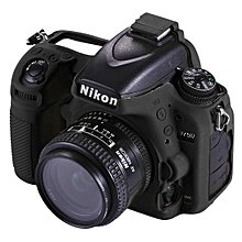 PULUZ Soft Silicone Protective Case for Nikon D750 (Black)