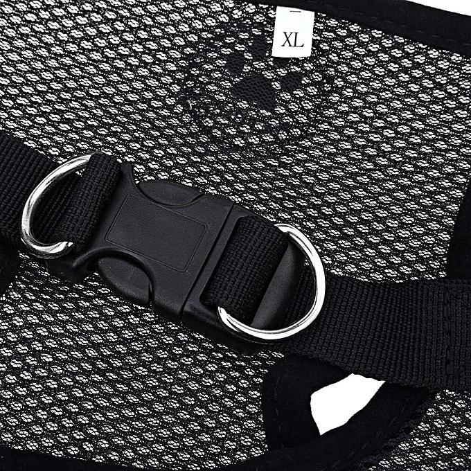 ... Pething Pet Harness Leash Strap Soft Mesh Dog Cat Adjustable Vest Safe Collar Cloth With Clip ...