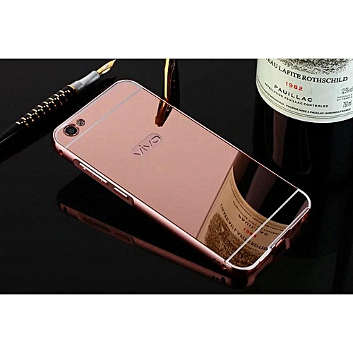 san francisco 0669e a7ec8 VIVO V5S Case Aluminum Metal Bumper Back Cover Phone Housing For Vivo V5  Mirror Casing