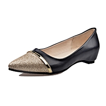 Generic Ladies Women's Shoes Fashion Pointed Toe Casual Shoes Low Heel Flat Shoes A1