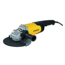 Heavy Duty Angle Grinder - 2200W - Black & Yellow