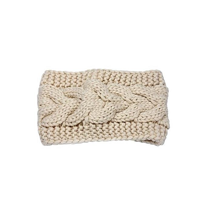Buy Eissely New Crochet Knitted Headband Flower Winter Women Ear