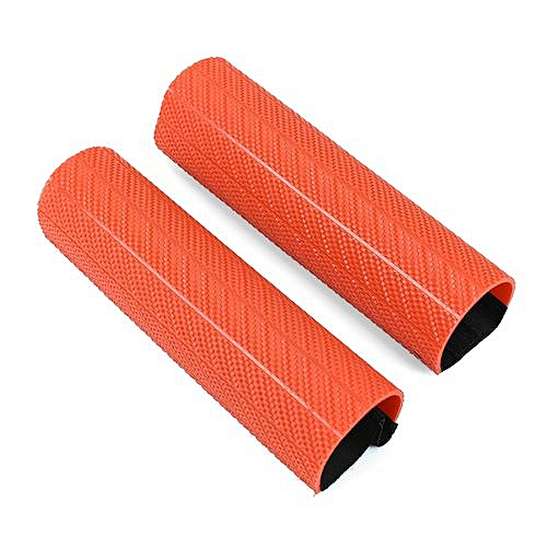 1Pair Universal Front Fork Protector Shock Absorber Guard Wrap Cover Dust  Cover For KTM YZF250 CRF250/Pit Dirt Bike Motocross Orange