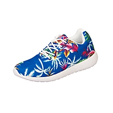 Casual Active Shoes - Ocean Blue Floral