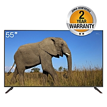 "Haier  - 55"" - UHD SMART TV  - Black"
