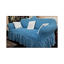 Sofa Seat Covers – 3+2+1+1  – Light Blue