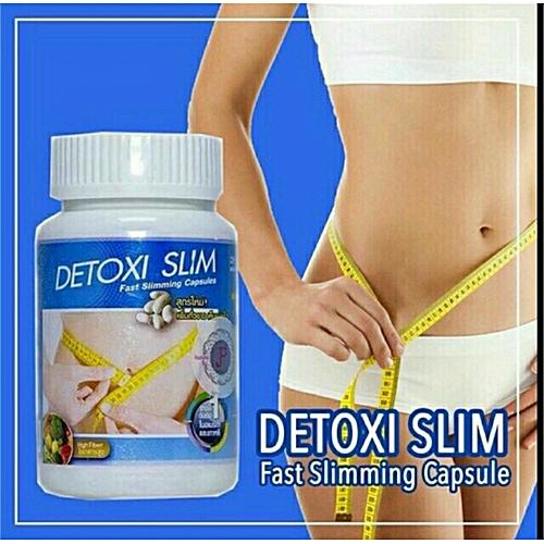 Detoxi Slim Fast Slimming Capsules Diet Detox Weight Loss Supplements