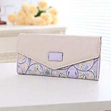 Famous Brand Designer Luxury Long Wallet Women Wallets Female Bag Ladies Money Coin Women Purse Carteras Cuzdan Purple
