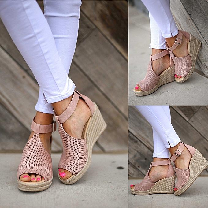 a3228e75d03 Fashion SKI Shop Women Summer Casual Wedges Shoes   Best Price ...