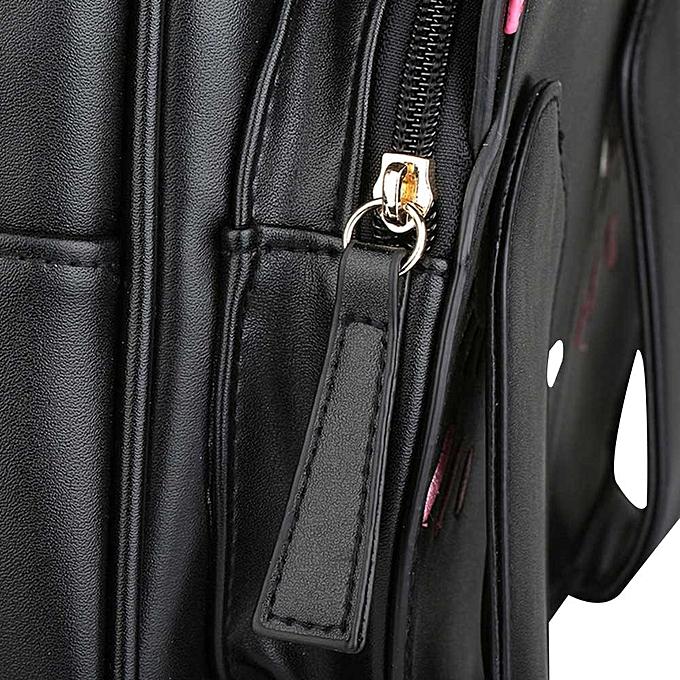 234fc29bc6 ... jiuhap store Cute Cat Backpack School Women Backpacks for Teenage Girls  -black ...