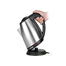 Cordless Electric Kettle  2L - Silver & Black
