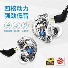 VK1 Dual Dynamic HiRes In-Ear Earphone xYx-S