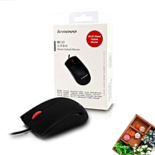 Wired Red Dot Business Mouse For Lenovo M120 Macbook Laptop PC Computer Notebook