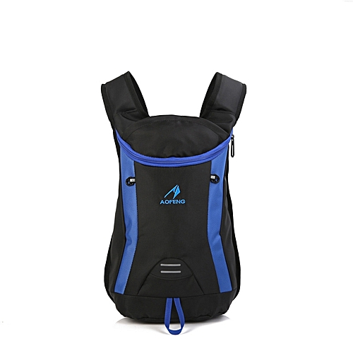 15L Nylon Outdoor Cycling Bag Backpack Waterproof Wear Resistant Scratch Proof  Camping Hiking Travel d7ef62b92e954