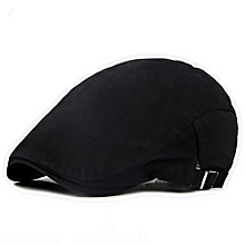 ca64cd7a8f3 Men Flat Cabbie Newsboy Ivy Hat Cotton Sun Beret Cap