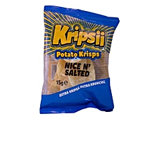 Nice 'N' Salted Potato Crisps, 15g
