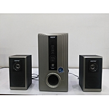 GMS7493 - Geepas Multimedia Speaker 2.1 Channel - Black