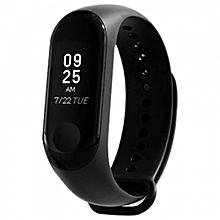 Xiaomi Mi Band 3 Smart Bracelet Heart Rate Monitor Bluetooth 4.2 Wristband BLACK
