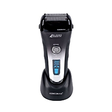 4-blade Electric Shaver Cutting System Rechargeable LCD Display Hair Styling Tools