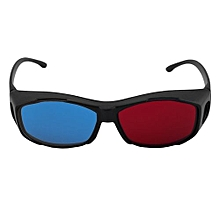 Universal Type 3D Glasses/Red Blue Cyan 3D Glasses Anaglyph 3D Plastic Glasses