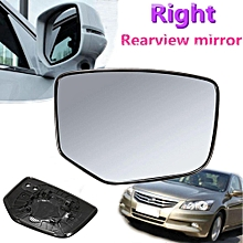 Right Side Power Mirror Glass W/ Backing Plate For 2008-2012 Honda Accord New