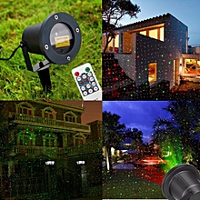 Laser Projector Laser Light Outdoor LED Waterproof Garden Party Christmas Lights