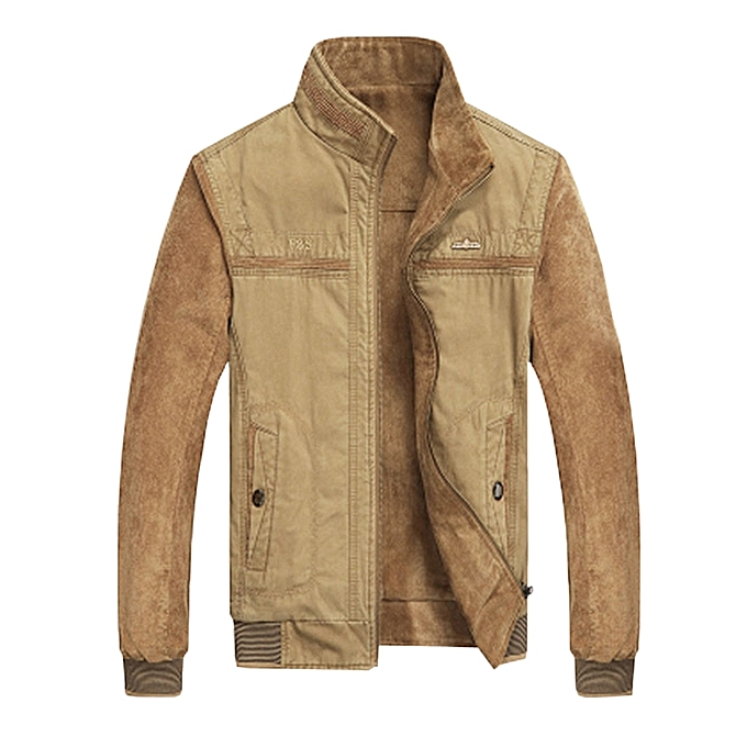 Fashion Mens Reversible Double Sided Wearable Autumn Corduroy Cotton