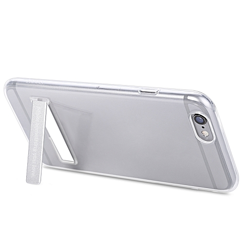 HOCO 5.5 inch Transparent TPU Phone Cover Magnetic Stand Protective Case for iPhone 6 Plus / 6S Plus