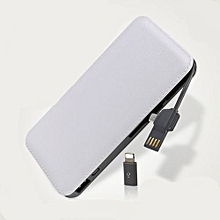 9000 mAh – Power Bank  - White