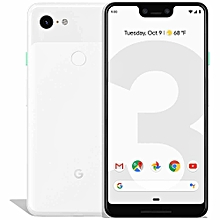 Pixel 3 XL 6.3-Inch (4GB, 128GB ROM), 12.2MP + 8MP 4G Smartphone - Clearly White