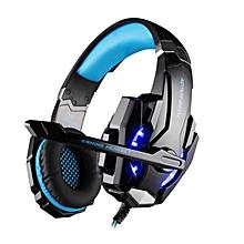 LEBAIQI EACH Pro G9000 3.5mm USB Gaming Headset Stereo Gamer Razer Headphone With Mic LED Light For PC Laptop Tablet PS4