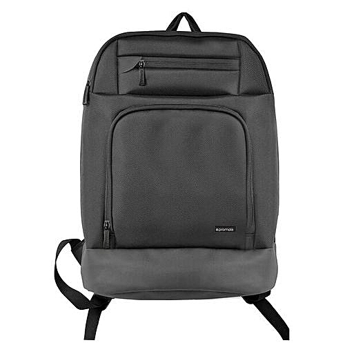 884e59c04f1a Promate Vertex-BP Black Laptop Backpack