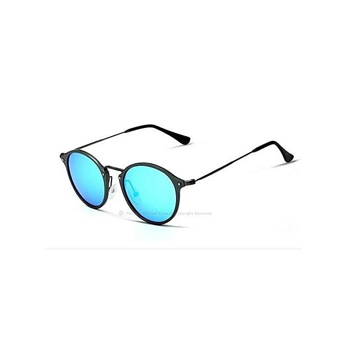 VEITHDIA Mens Square Retro Aluminum Sunglasses Polarized Blue Lens Vintage  Eyewear Accessories Sun Glasses For Men cbd3ef739