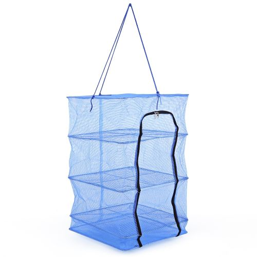 Universal durable fishing vegetables net drying tool with