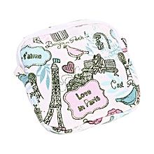 Women Girl Cute Sanitary Pad Organizer Holder Napkin Towel Convenience Bags