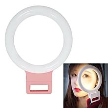 XJ18 LED Light Live Self-timer Flash Fill Light(Pink)