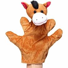 New Velour Animal Hand Puppets Child Kids Educational TOY Preschool Kindergarten