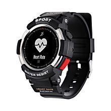 F6 - Smartwatch 350mAh Camera Bluetooth 4.0 Waterproof - Silver