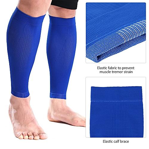 d41eba9cf4 Generic Sports Calf Sleeves Compression Leg Guard Running Football Calf  Shin Support Calf Muscle Relieve Wrap