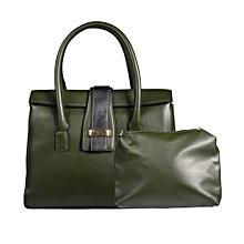 Green 2 in 1 Handbag