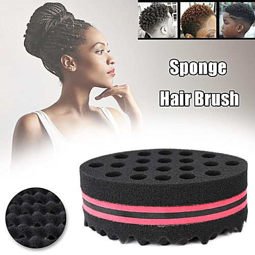Personal Care Appliances Curling Irons Set Of 4 Hair Brush Sponge Twist Wave Barber Tool For Dreads Afro Locs Twist Curl Black Red Outstanding Features