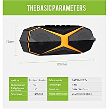Enjoy Outdoor Wireless Bluetooth 4.2 Stereo Portable Speaker Built-in mic Shock Resistance Waterproof Speaker with Bass