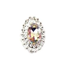Fancyqube Women's Fashion Rhinestone Crystal Nail Art Decal Tips Glitters Stickers Nail Accessories