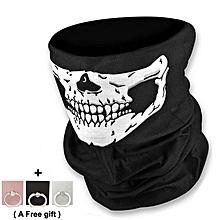 Halloween Skull Face Towel Multi-Purpose Scarf/Mask COSPLAY