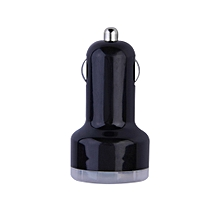 Dual 2 Port Universal USB Car Charger Adapter for iPad2 Samsung iPhone HTC