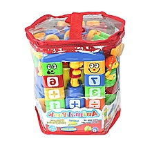 72PCS Building Blocks - Multicolor