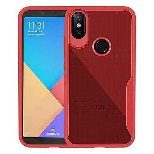 low priced 4daa9 62ab7 Evergreenbuying Xiaomi Redmi Y2 (Redmi S2) Case,Slim Super Shockproof Anti  Scratch Protective Soft Tough Bumper Scrub Back Phone Case Cover for Xiaomi  ...