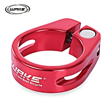 31.8MM MTB Bike Bicycle Aluminum Alloy Quick Release Seat Post Clamp Tube Clip - Red