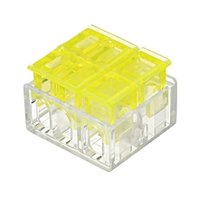 3Pin 1 Way Series Wire Connector Flame Retardant Terminal Block Electric Cable Terminal