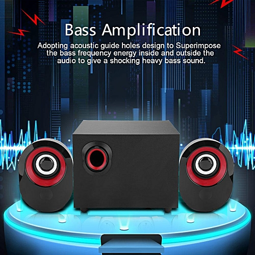 Heavy Bass Amplification Computer Speakers Lossless HiFi Music Graceful  Computer Subwoofer